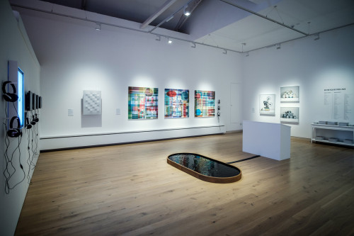 Exhibition view at York Art Gallery, Aesthetica Art Prize 2020. Photo: Courtesy of Aesthetica Magazine. Photographer: Jim Poyner