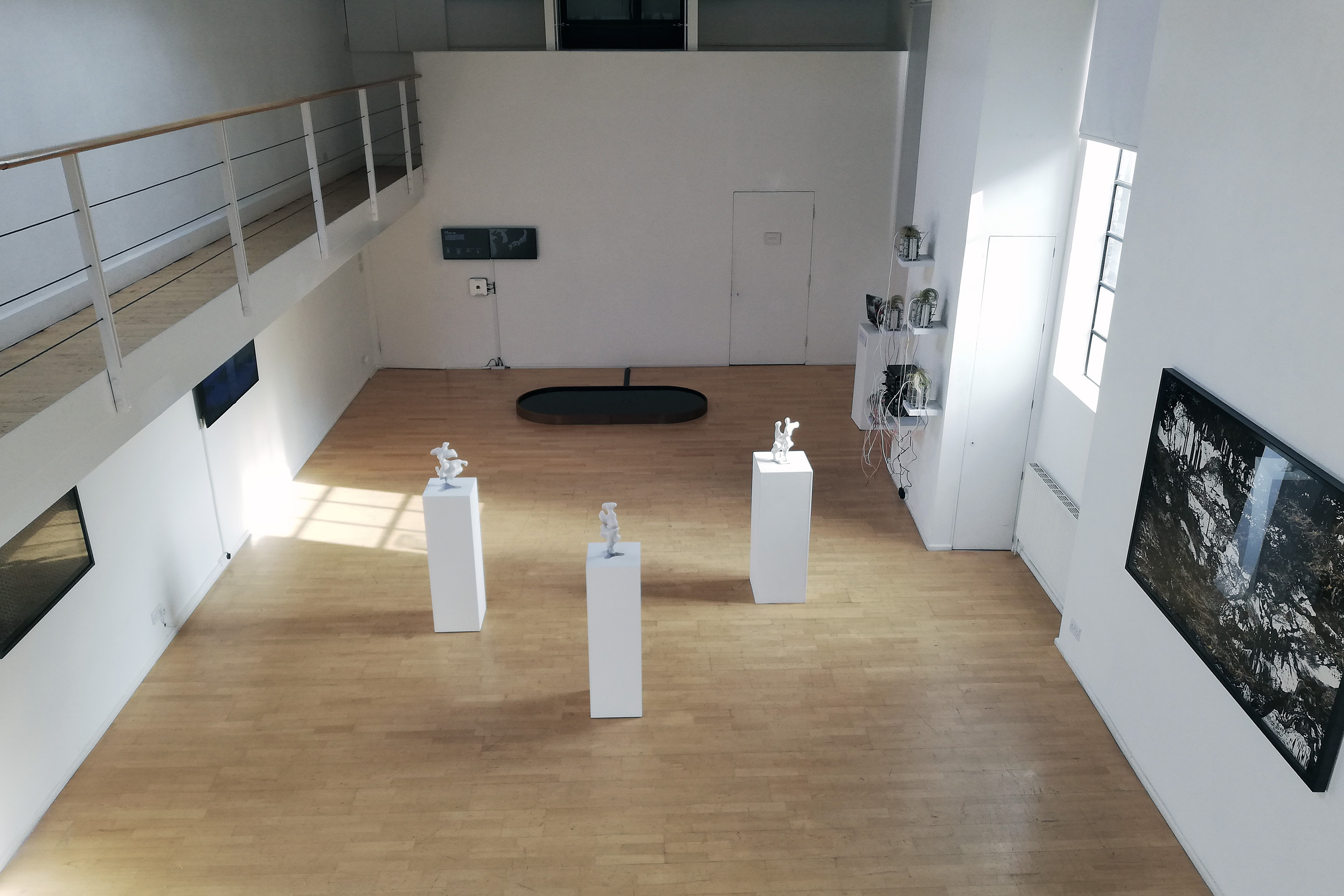 Exhibition overview, The Cello Factory Gallery London, Lumen Directors' showcase